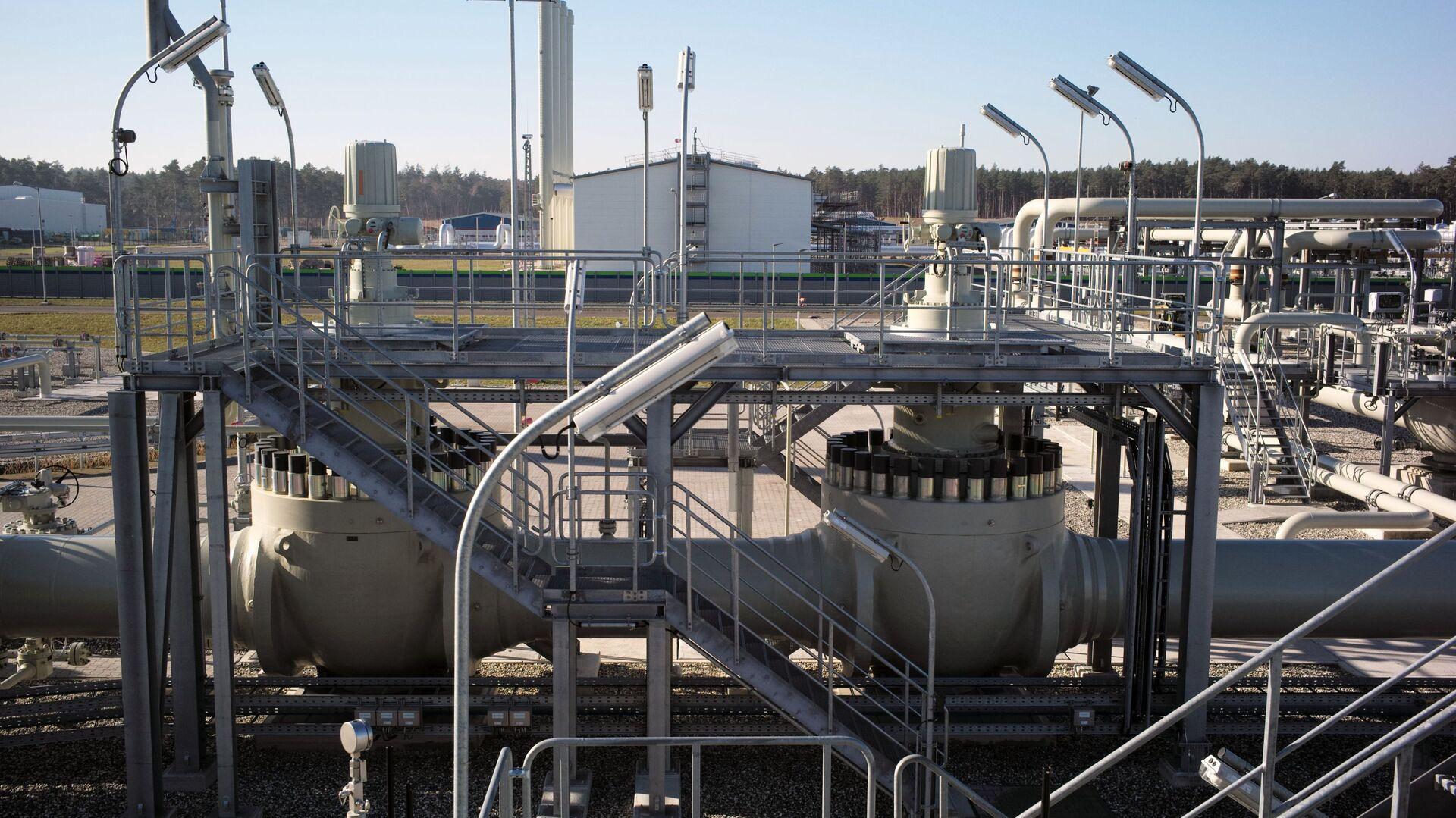 Береговые объекты газопровода Северный поток - 2 в городе Любмин в Германии - Sputnik Česká republika, 1920, 21.07.2021