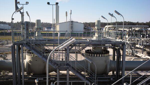Pobřežní zařízení plynovodu Nord Stream 2 v německém Lubminu - Sputnik Česká republika