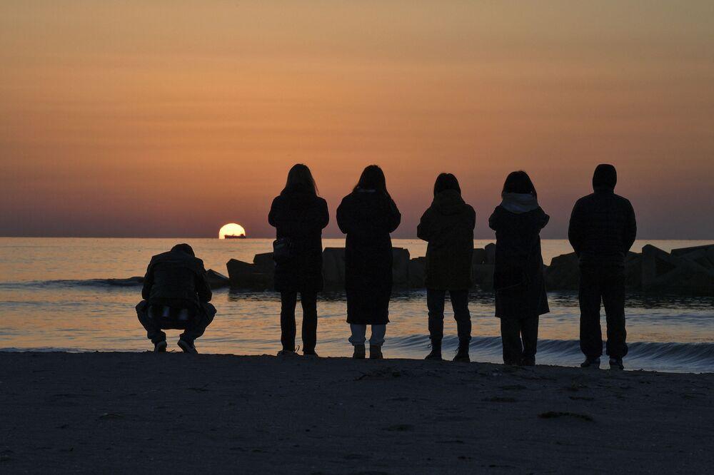 Modlitba za oběti zemětřesení r. 2011