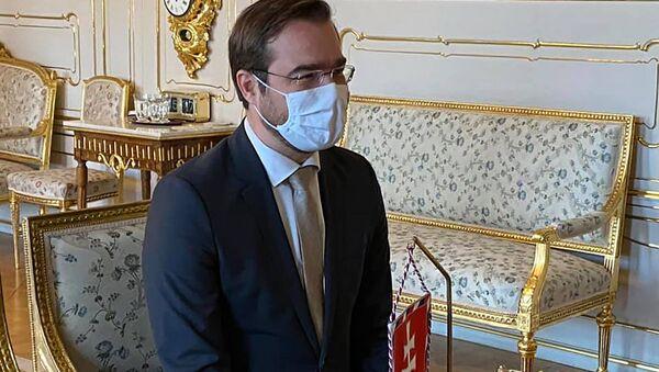 Bývalý slovenský ministr zdravotnictví Marek Krajčí  - Sputnik Česká republika