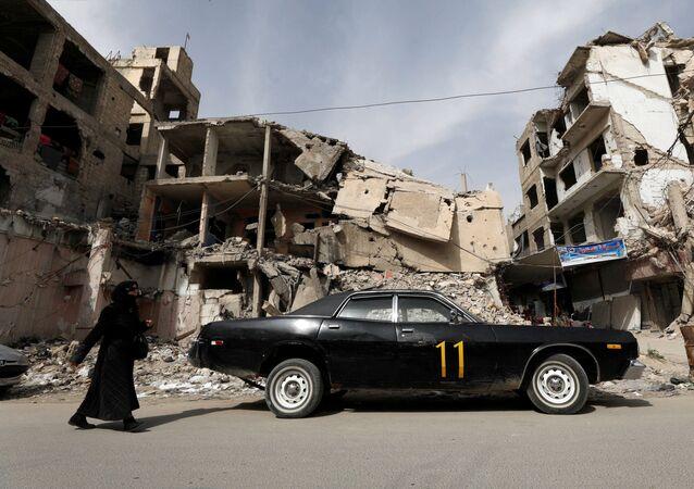 Život v troskách: Syrské město Dúmá po uplynutí tří let od chemického útoku