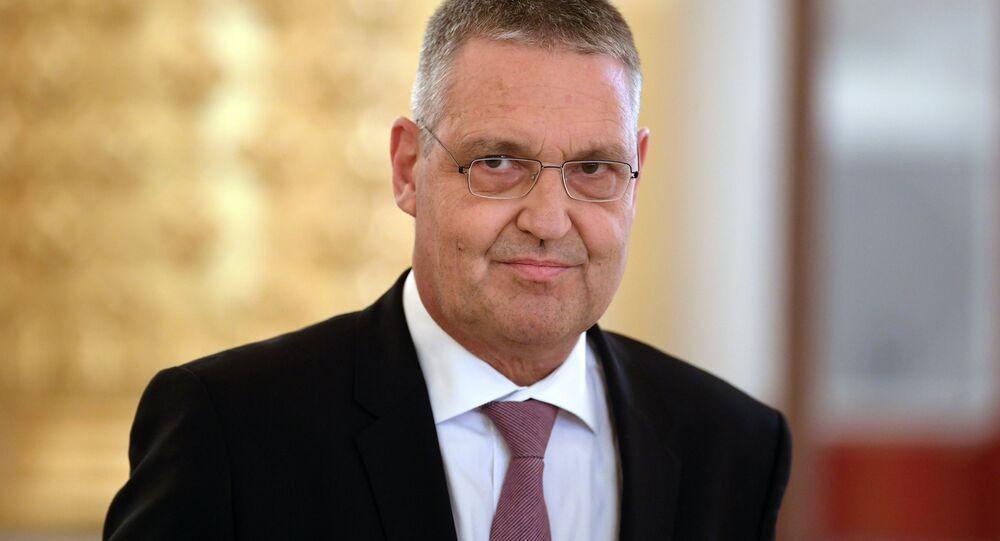 Velvyslanec EU v Rusku Markus Ederer