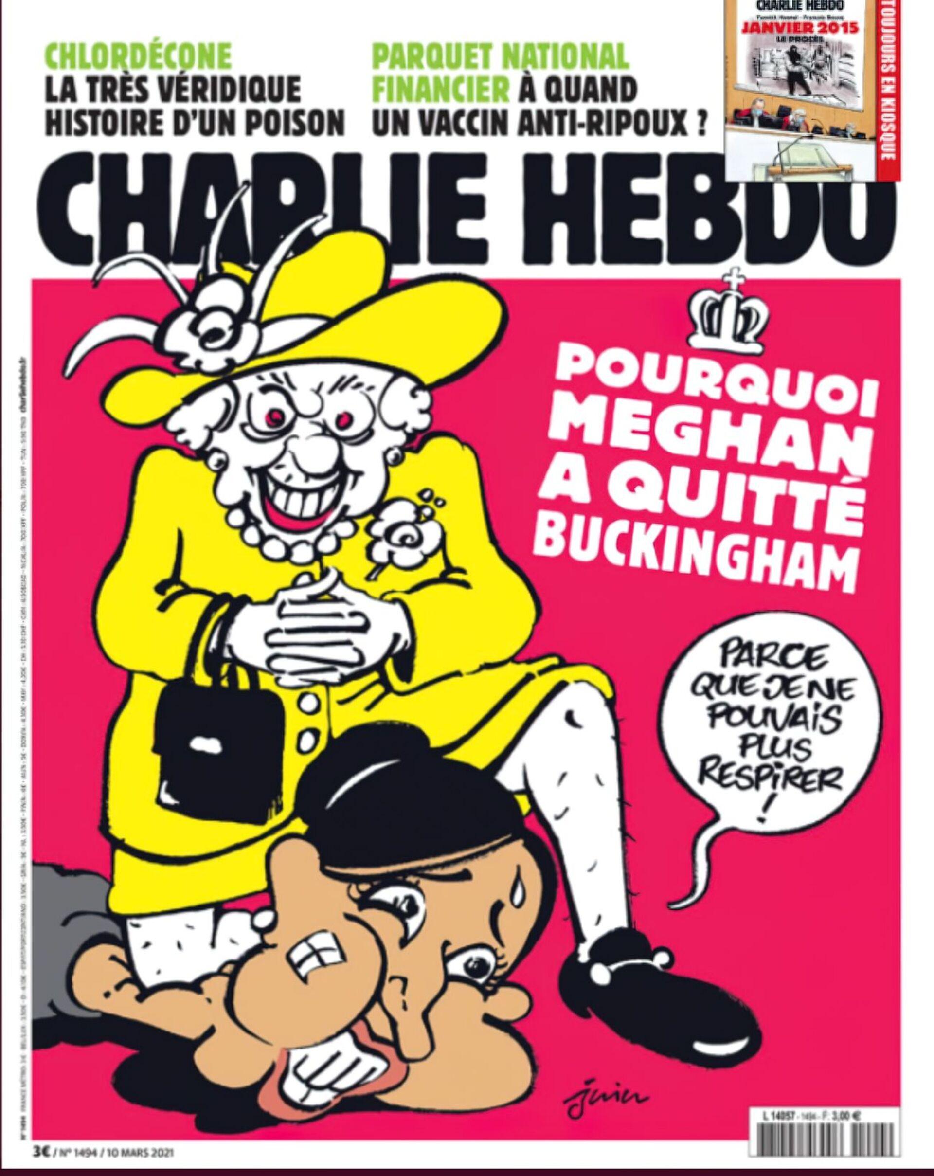 Obálka časopisu Charlie Hebdo, březen 2021 - Sputnik Česká republika, 1920, 20.04.2021