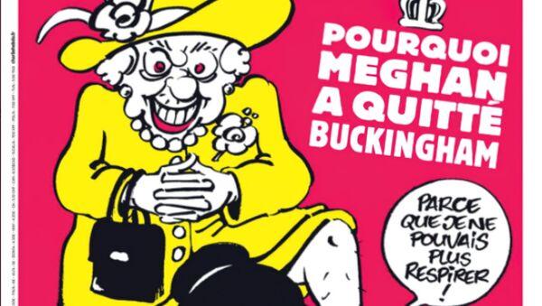 Obálka časopisu Charlie Hebdo, březen 2021 - Sputnik Česká republika