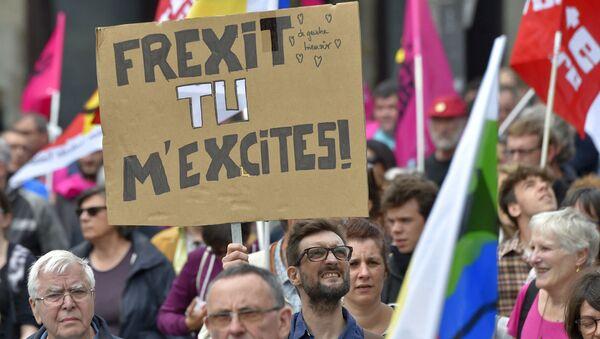 Protest proti pracovním reformám ve Francii - Sputnik Česká republika