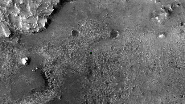 Místo přistání vozítka Perseverance na Marsu - Sputnik Česká republika