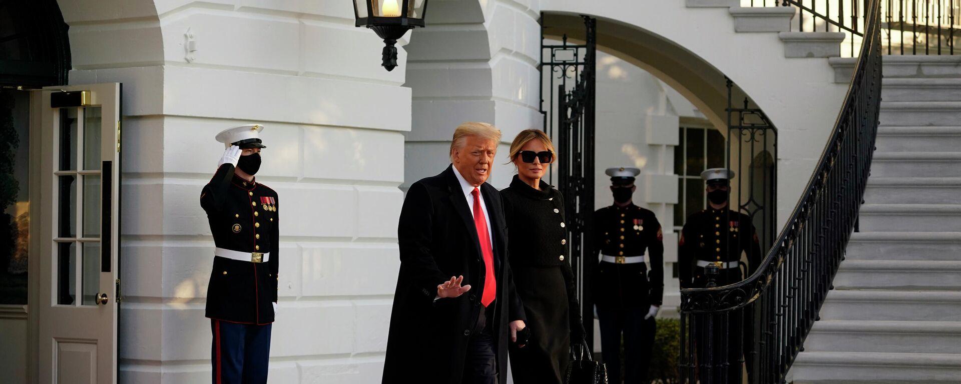 Bývalý americký prezident Donald Trump - Sputnik Česká republika, 1920, 20.04.2021