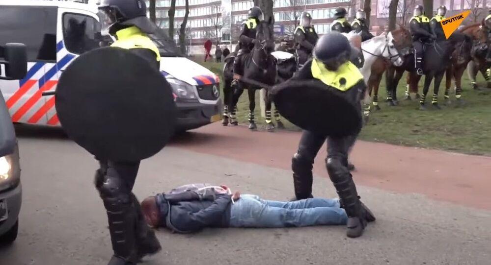 Protesty v Nizozemsku