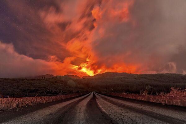 Sopka Etna. - Sputnik Česká republika