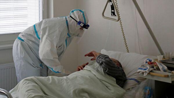 Pacient s koronavirem v nemocnici v Mladé Boleslavi - Sputnik Česká republika