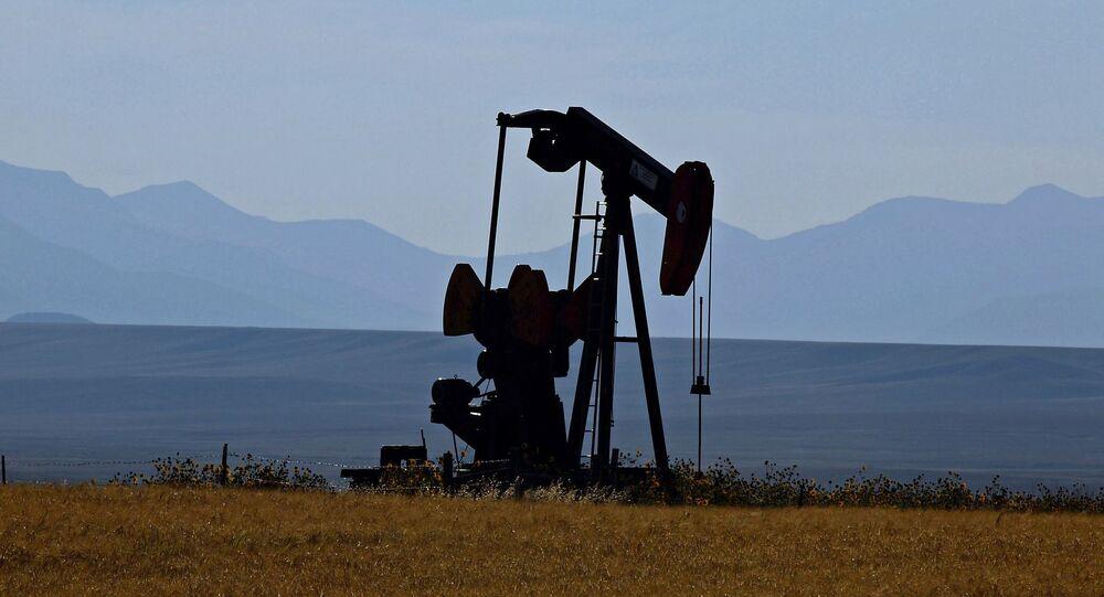 Těžba ropy v USA