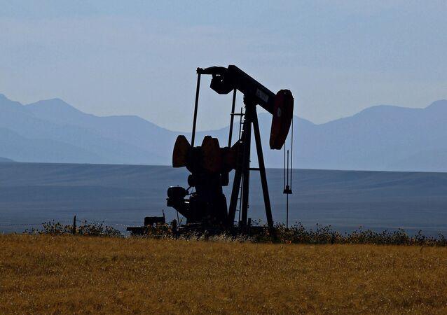 Těžba ropy v USA. Ilustrační foto