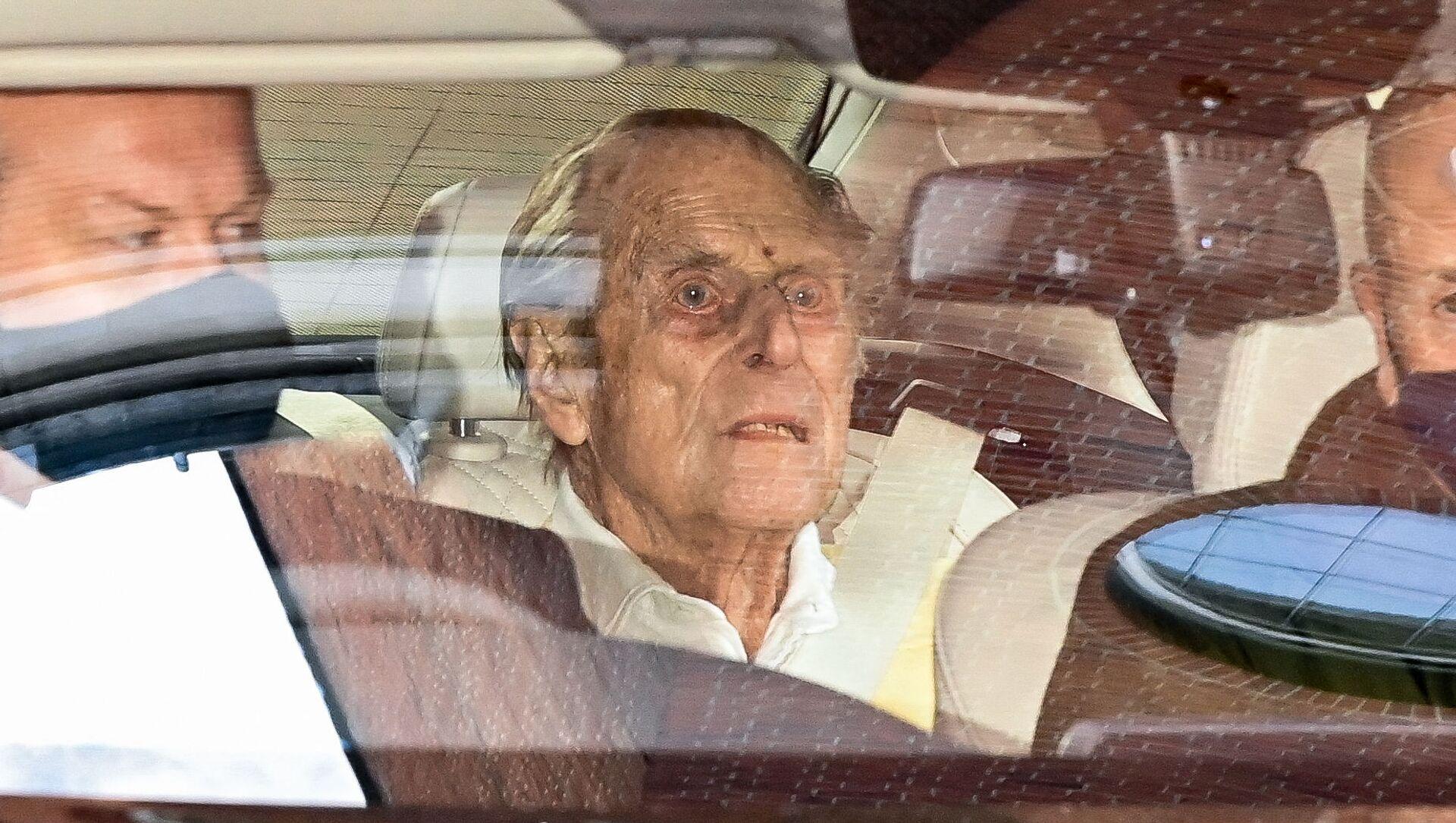 Britský princ Philip opustil londýnskou nemocnici - Sputnik Česká republika, 1920, 20.04.2021