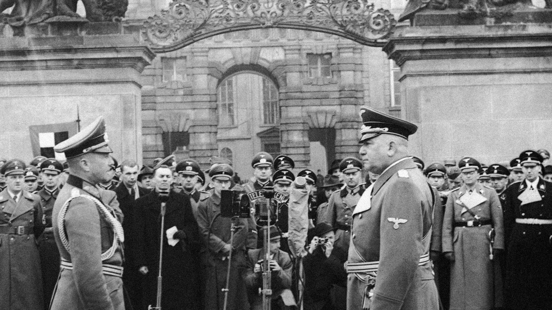 16. března byl vyhlášen protektorát Čechy a Morava - Sputnik Česká republika, 1920, 16.03.2021
