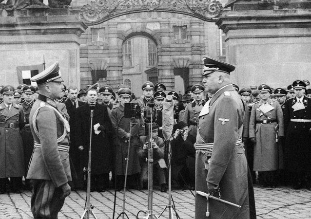 16. března byl vyhlášen protektorát Čechy a Morava