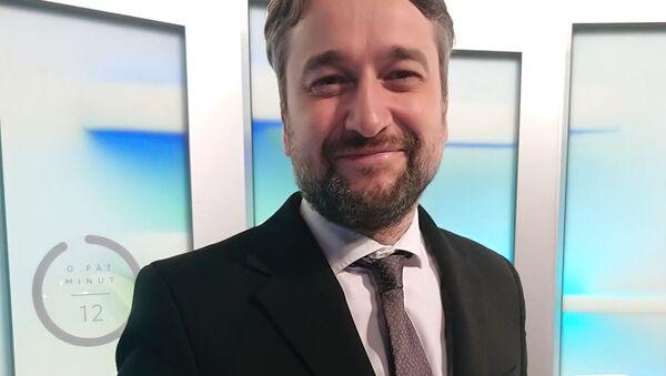 Poslanec za SMĚR-SD Ľuboš Blaha - Sputnik Česká republika