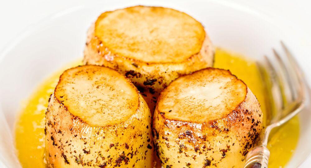 Fondant brambory