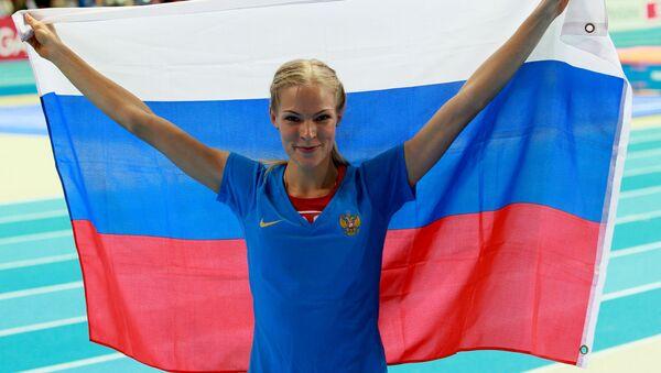Atletka Darja Klišinová - Sputnik Česká republika