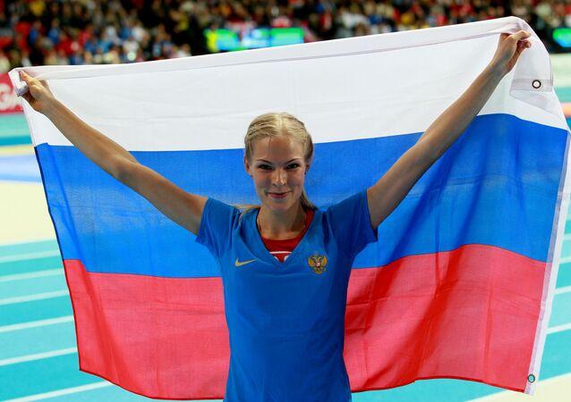 Atletka Darja Klišinová