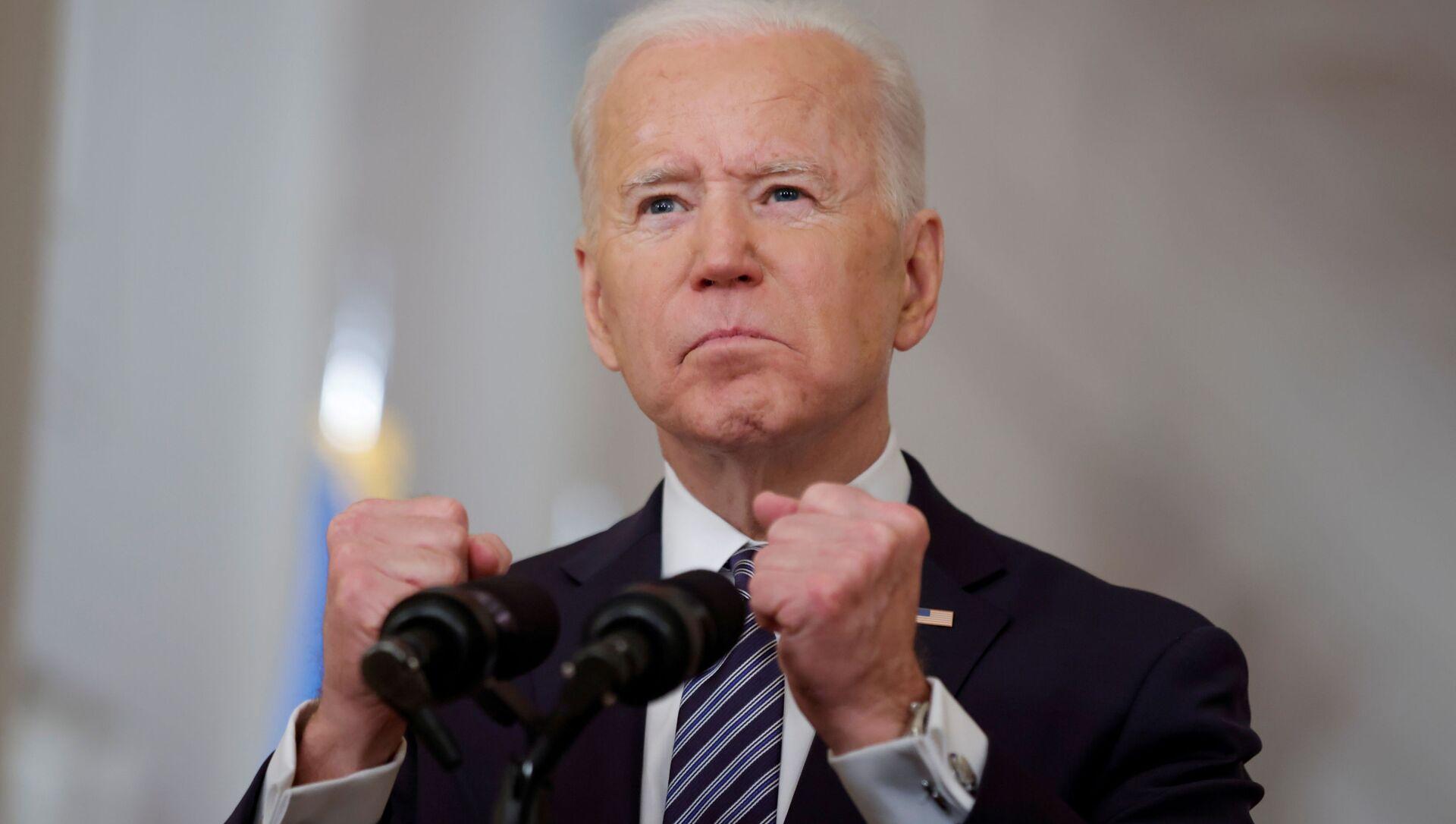 Joe Biden - Sputnik Česká republika, 1920, 17.03.2021