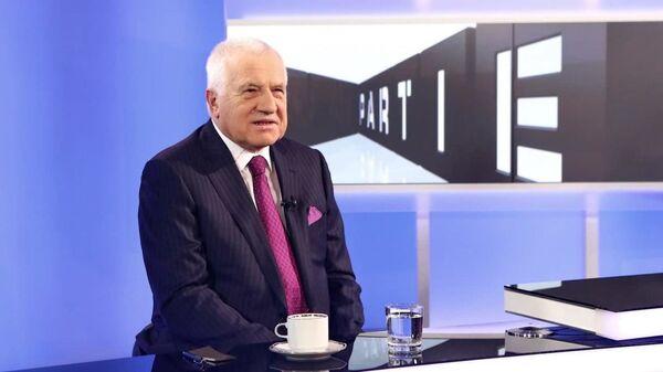 Bývalý prezident Václav Klaus - Sputnik Česká republika