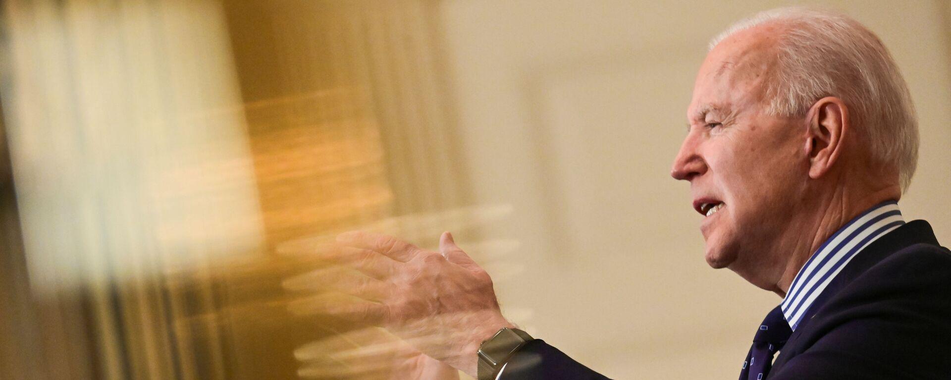 Prezidnet USA Joe Biden - Sputnik Česká republika, 1920, 20.04.2021
