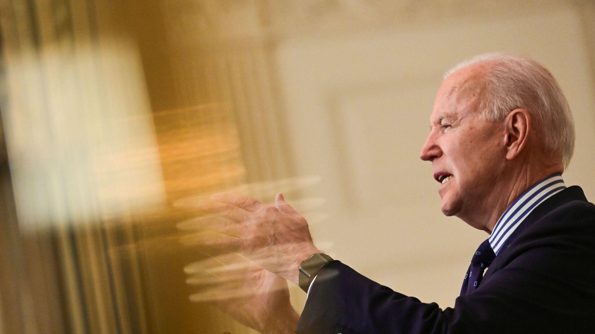 Prezidnet USA Joe Biden - Sputnik Česká republika, 1920, 19.03.2021