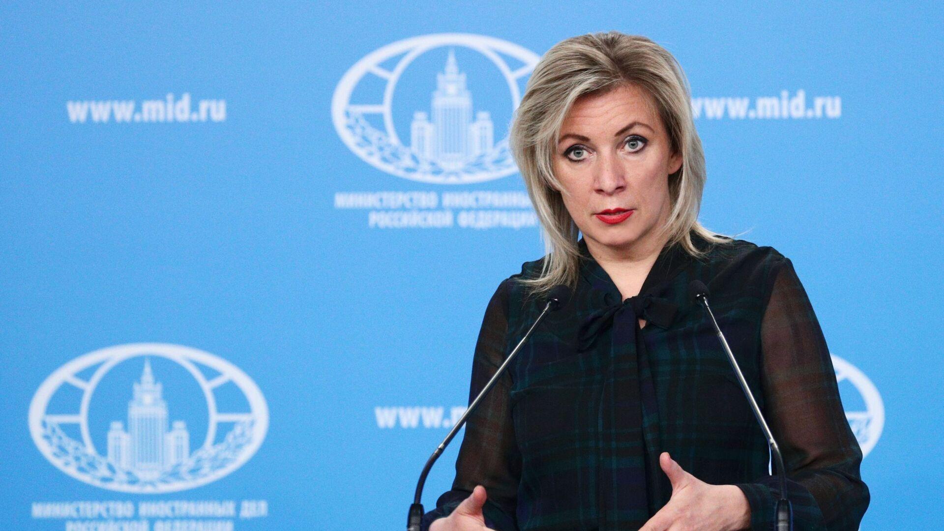Mluvčí ruského ministerstva zahraničí Maria Zacharovová - Sputnik Česká republika, 1920, 13.09.2021