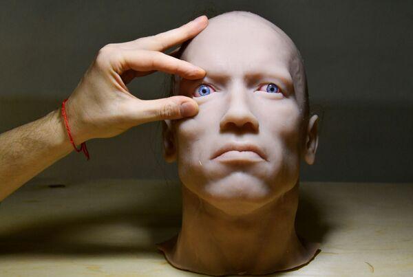 Centrum pro modelování humanoidních robotů ve Vladivostoku.  - Sputnik Česká republika