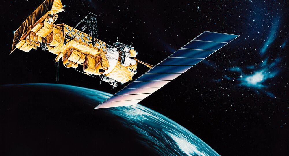 Nefunkční americká meteorologická družice NOAA 17