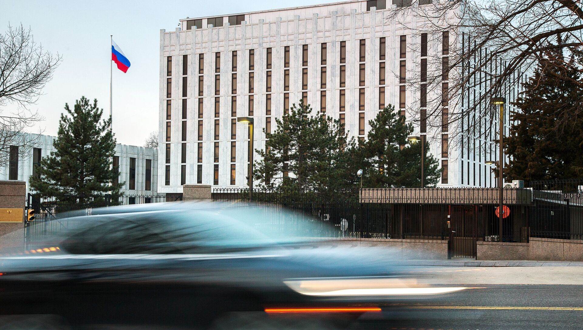 Ruské velvyslanectví ve Washingtonu - Sputnik Česká republika, 1920, 20.03.2021