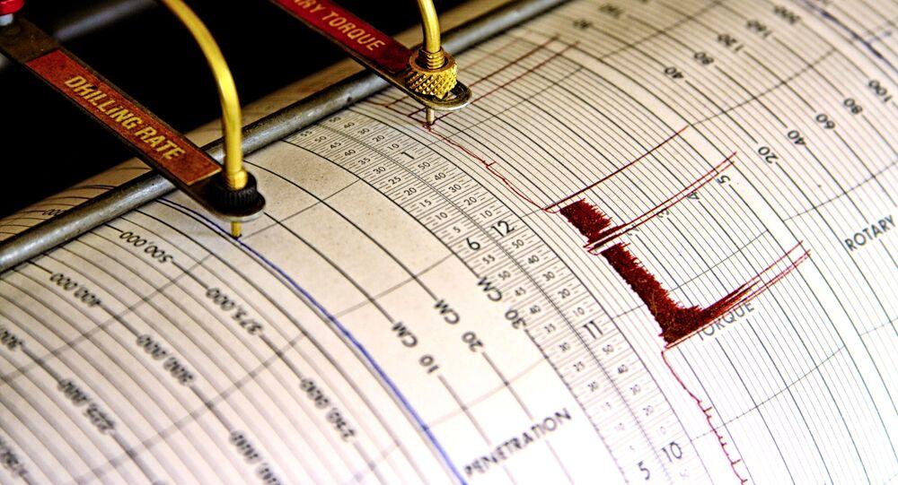 Seismograf. Ilustrační foto