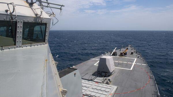 Americká válečná loď USS Thomas Hudner (DDG 116)  - Sputnik Česká republika