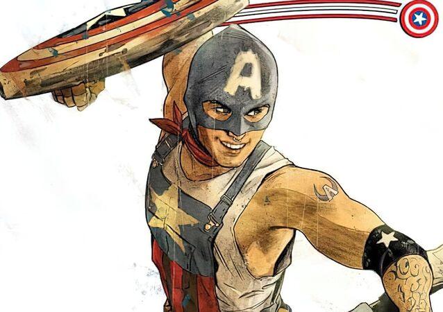 Homosexuální Captain America