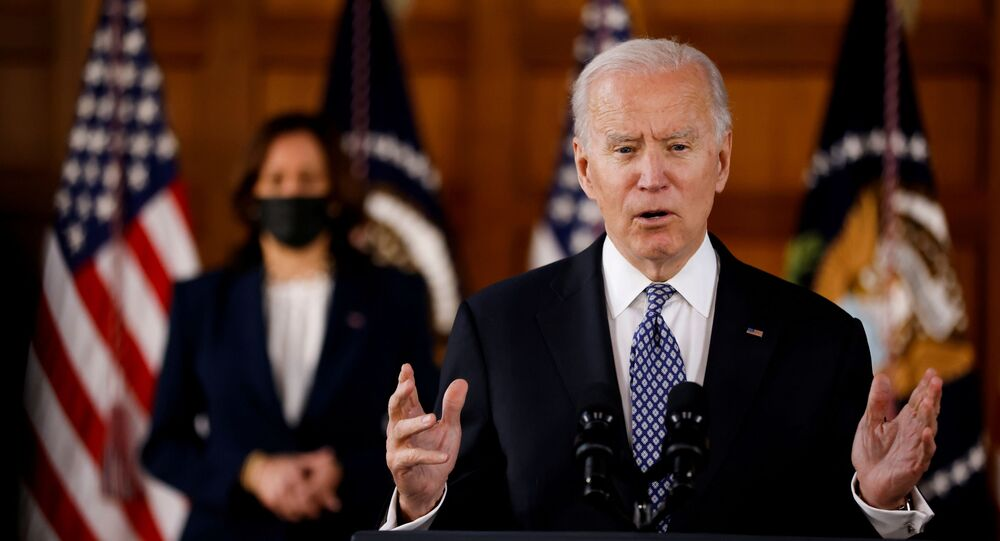 Americký prezident Joe Biden a viceprezidentka Kamala Harris
