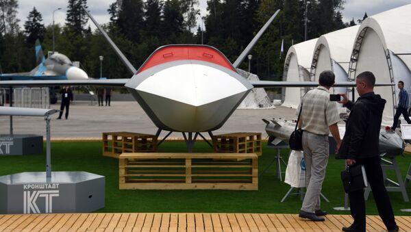 Ruský bezpilotní stroj (BPLA) Grom (Hrom)  - Sputnik Česká republika
