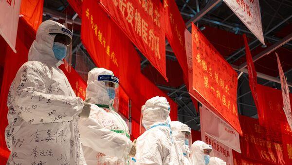 Exponáty výstavy ve Wu-chanu. Illustrační foto - Sputnik Česká republika