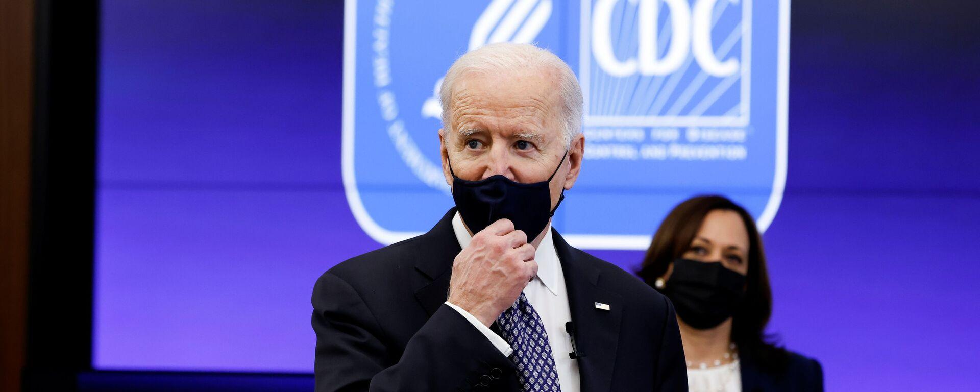 Americký prezident Joe Biden  - Sputnik Česká republika, 1920, 27.03.2021