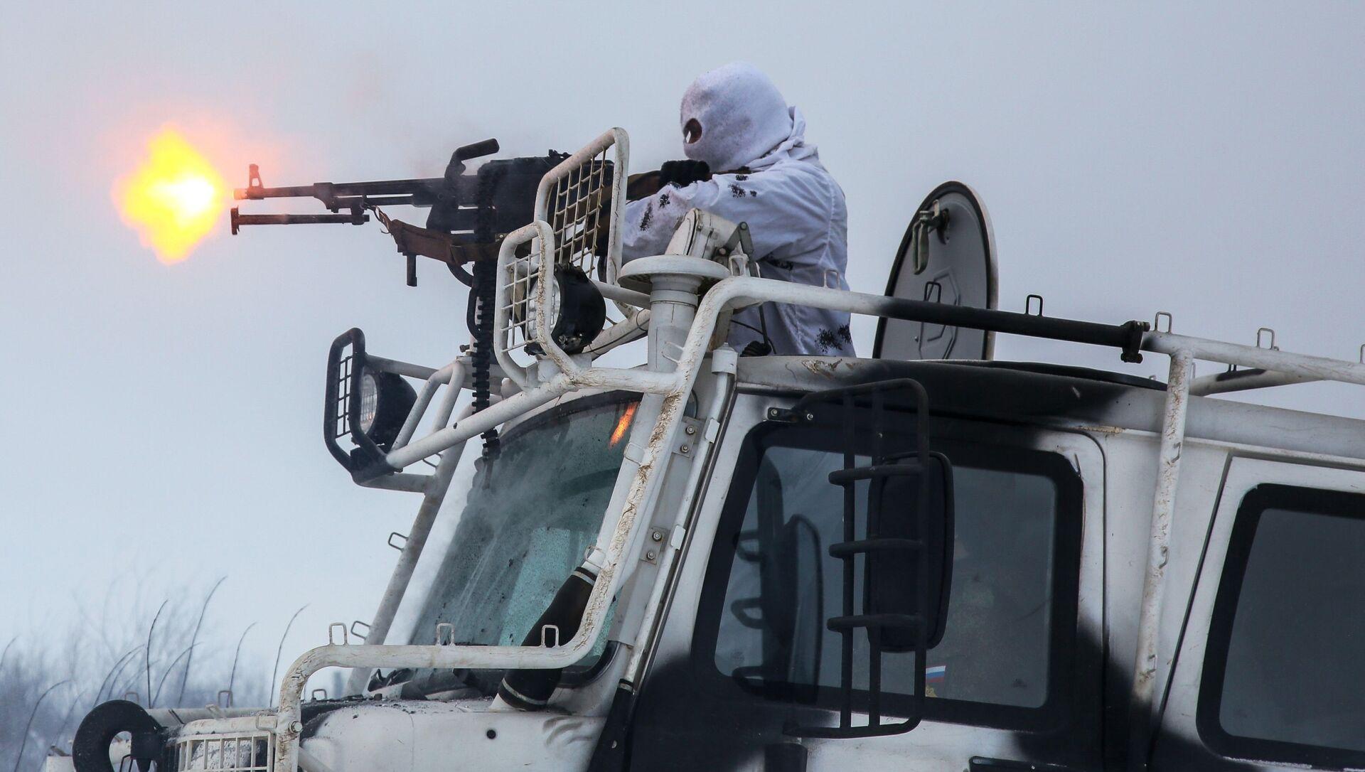 Výcvik na terénních vozidlech Aleut Arctic v Murmanské oblasti. - Sputnik Česká republika, 1920, 14.04.2021