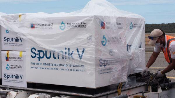 Dodávky ruské vakcíny Sputnik V - Sputnik Česká republika