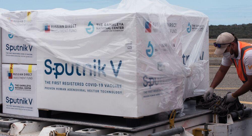Dodávky ruské vakcíny Sputnik V