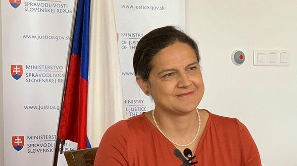 Ministryně spravedlnosti SR Mária Kolíková  - Sputnik Česká republika