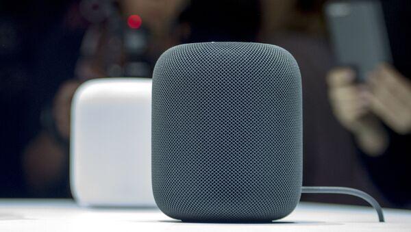 Sloupce HomePod společnosti Apple  - Sputnik Česká republika