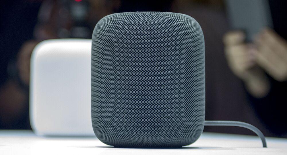 Sloupce HomePod společnosti Apple
