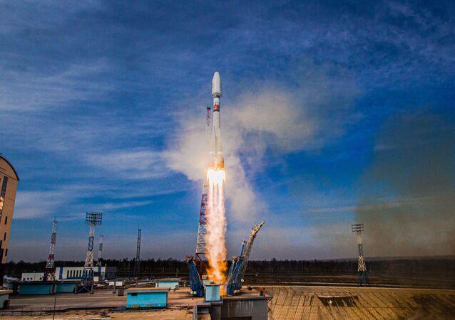 Start Sojuzu 2.16 z kosmodromu Vostočnyj
