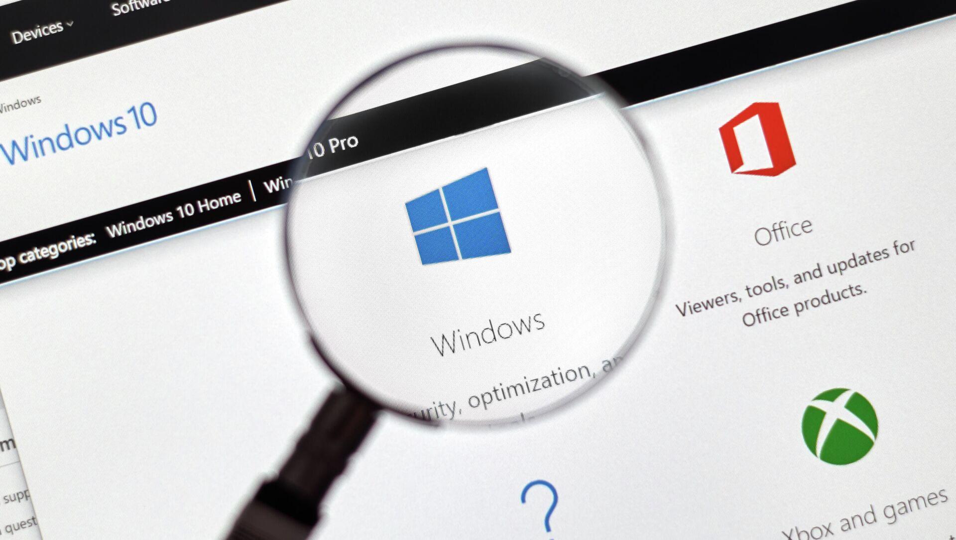 OS Microsoft Windows 10 - Sputnik Česká republika, 1920, 25.03.2021
