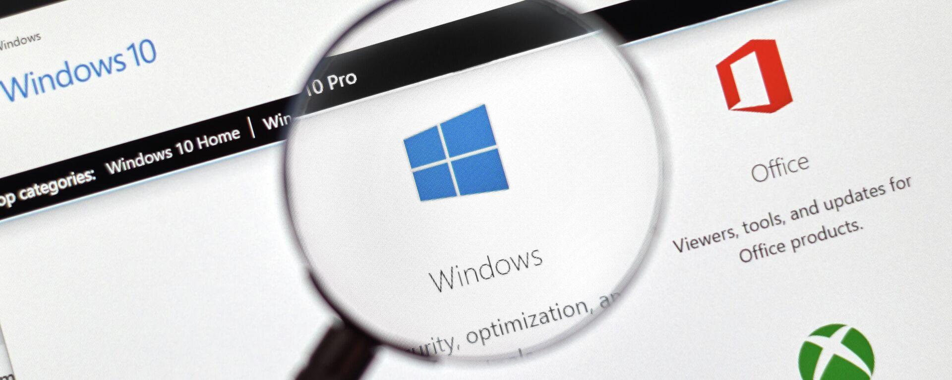 OS Microsoft Windows 10 - Sputnik Česká republika, 1920, 27.06.2021