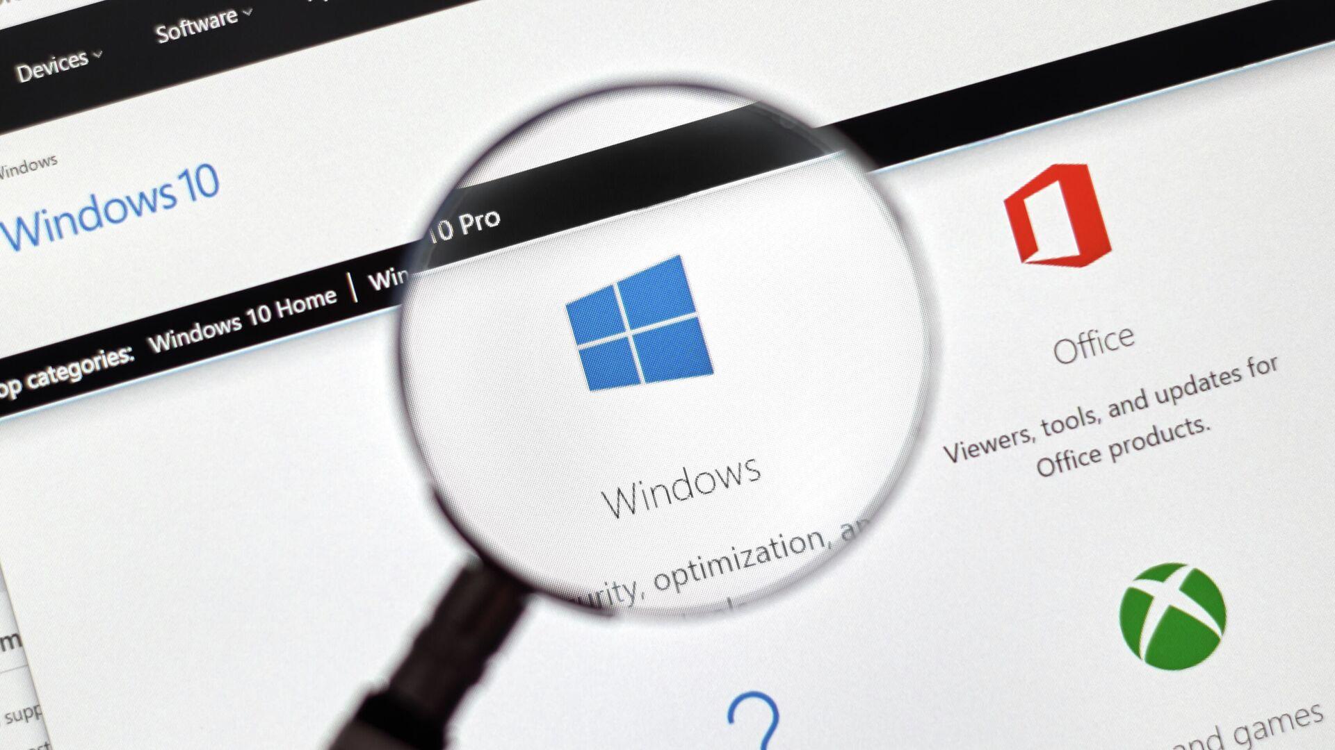 OS Microsoft Windows 10 - Sputnik Česká republika, 1920, 31.07.2021