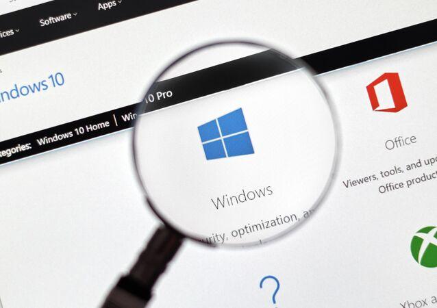 OS Microsoft Windows 10