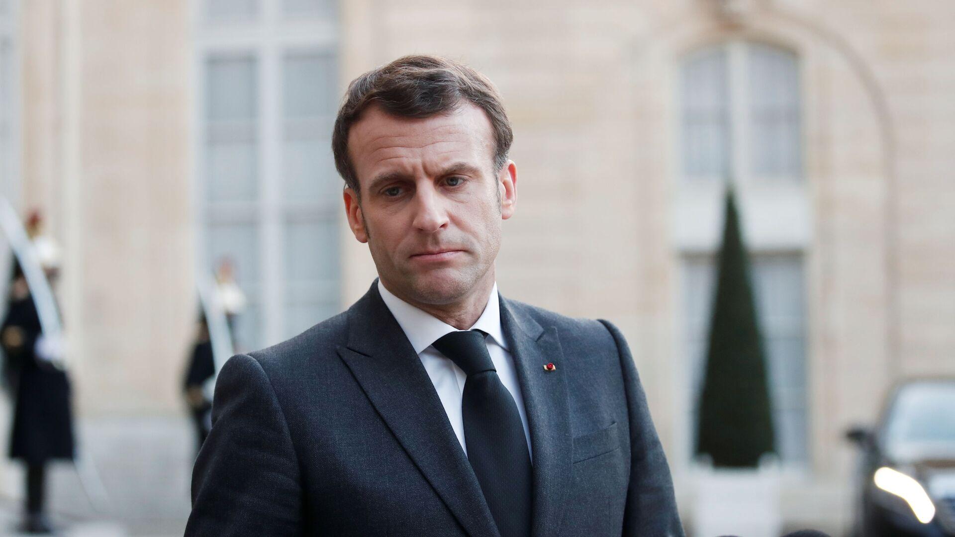 Francouzský prezident Emmanuel Macron - Sputnik Česká republika, 1920, 12.07.2021